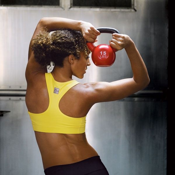 Total Body Toning With Kettlebells
