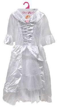 Beyaz Prenses kostümü, 5-7 yaş Parti Kostümleri - Kız Çocuk Parti Kostümleri Prenses Kostümü: Kostümlü Parti, Kıyafet Balosu, Okul Gösterileri, Prenses Temalı Doğum Günü Partileri için ideal kostüm.  Bedeni likralı kumaştan, kolları ve eteği tül ve dantel. Boyu 80 cm. 5-7 yaş için uygundur