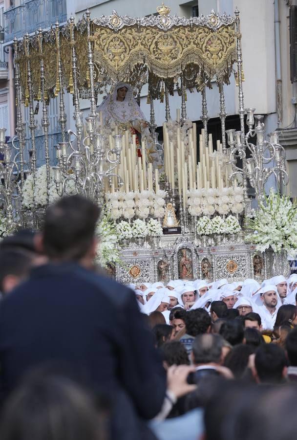 Rocío, en la Semana Santa de Málaga 2016