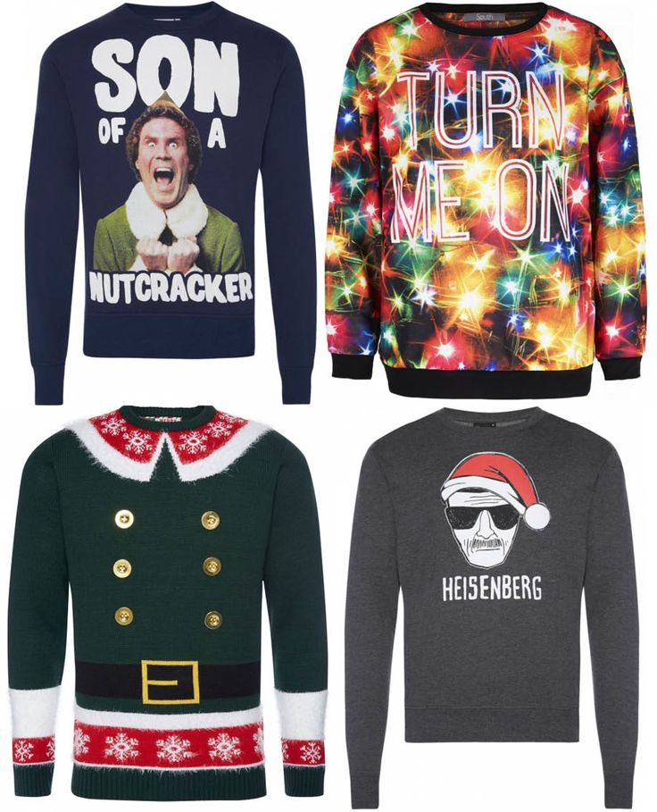 Because cheesy Christmas jumpers are awesome! http://lookm.ag/G1SB1X