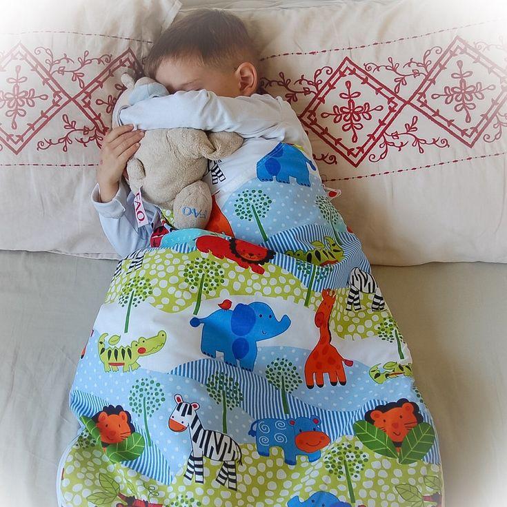 Baby sleeping sack, for a safe y cozy sleep