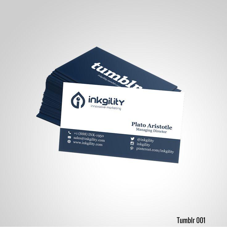 Tumblr Business Card | Tumblr Standard Business Cards | Pinterest ...