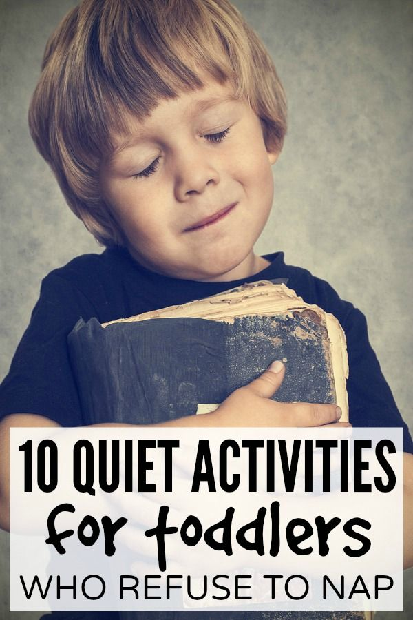 This collection of quiet activities for kids is just what you need to make it through the day when your child refuses to nap, is in a cranky mood, or just needs a little time to himself.