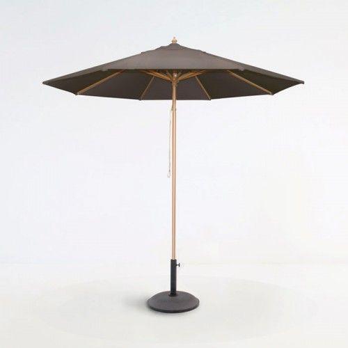Taupe Sunbrella, Driveway Umbrella