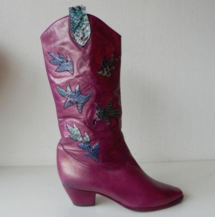 Linea Wallys vintage laarzen (nr. 1341)