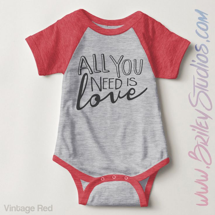 All You Need Is Love Infant Baseball Newborn Baby Outfit, Gender Neutral Baby Clothes, Personalized Baby Shower Gift, Coming Home Outfit by BrileyStudios on Etsy