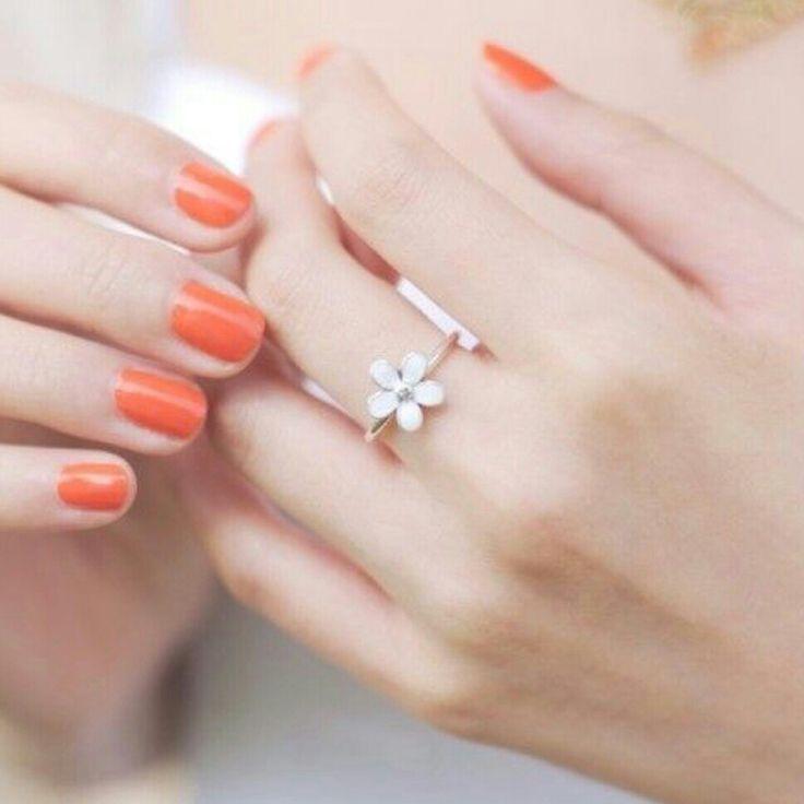 #pandora #gänseblümchen #ring   Blütenpracht   Pinterest ...