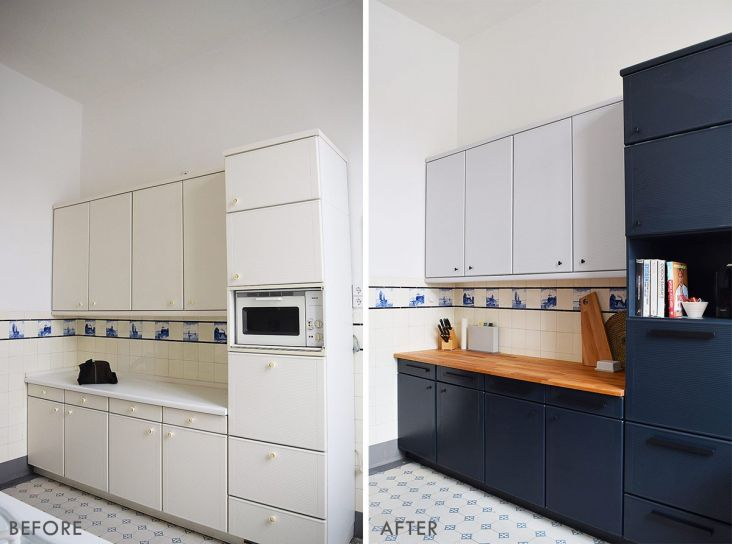 How To Remove Paint From Kitchen Cabinets Laminate Kitchen