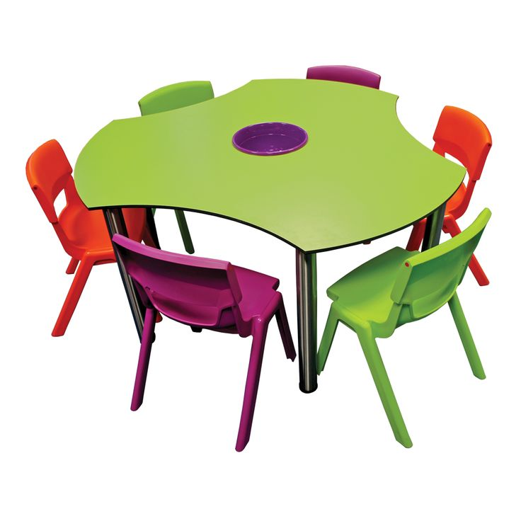 School Furniture: Discovery Table Set