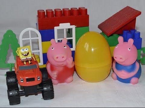 Свинка Пеппа и Джордж. Губка Боб квадратные штаны. Вспыш.Toys.