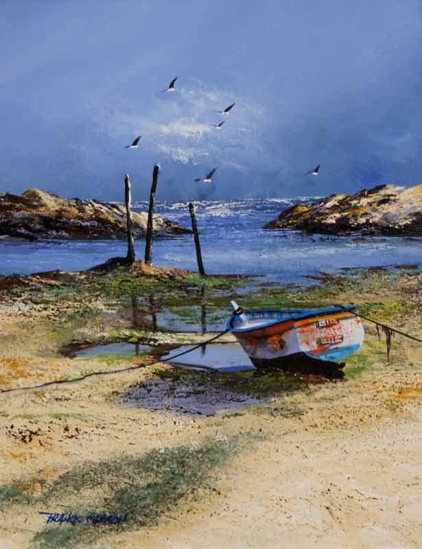 La Bretagne vue par l'Artiste Franck Carron, l'artiste impressionniste du XXI siècle