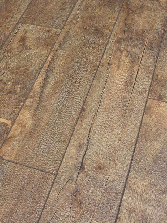 Dezign Stone Canyon Distressed Oak Laminate Flooring This