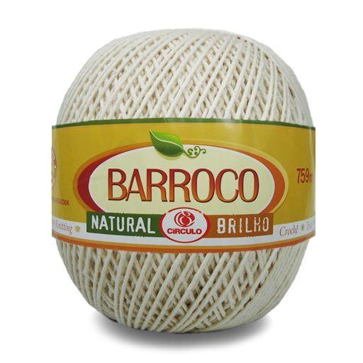 Barbante Barroco Natural Crú 700g - Círculo