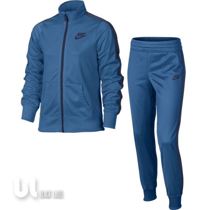 Nike Nsw Track Suit Set 2 teiler Mädchen Sportanzug Freizeit Trainingsanzug Blau in Kleidung & Accessoires, Kindermode, Schuhe & Access., Mode für Mädchen   eBay!