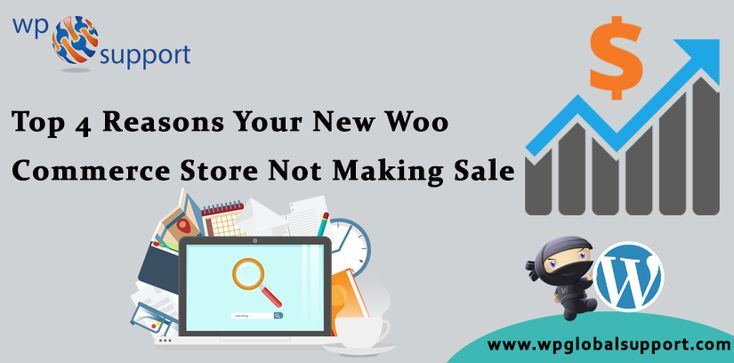 Are you want to create a new WooCommerce store and Your New WooCommerce Store Not Making Sale. It is a very common problem with WooCommerce store. You spend a lot of time to design it, a lot of time to drive traffic– and nobody buys anything from it. Modern design and good traffic are not enough, you need to sell! For more information  Visit:  https://www.wpglobalsupport.com/wordpress-help/