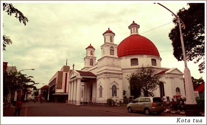 Blenduk church, Semarang, Java, Indonesia