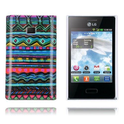 Optical (Blå) LG Optimus L3 Cover