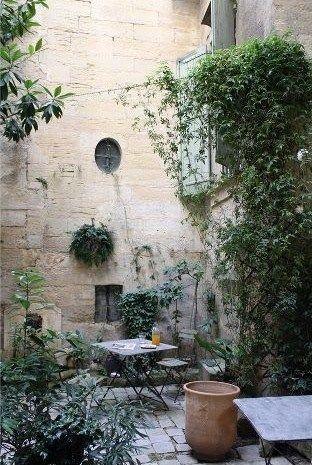 Beautiful secret garden