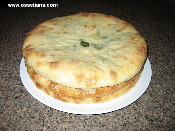 Ossetian traditional pies