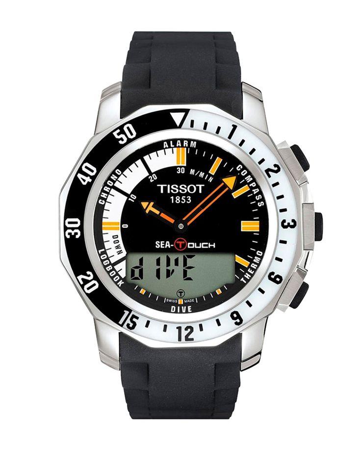 Ρολόι TISSOT SEA-TOUCH IN METERS T0264201728100