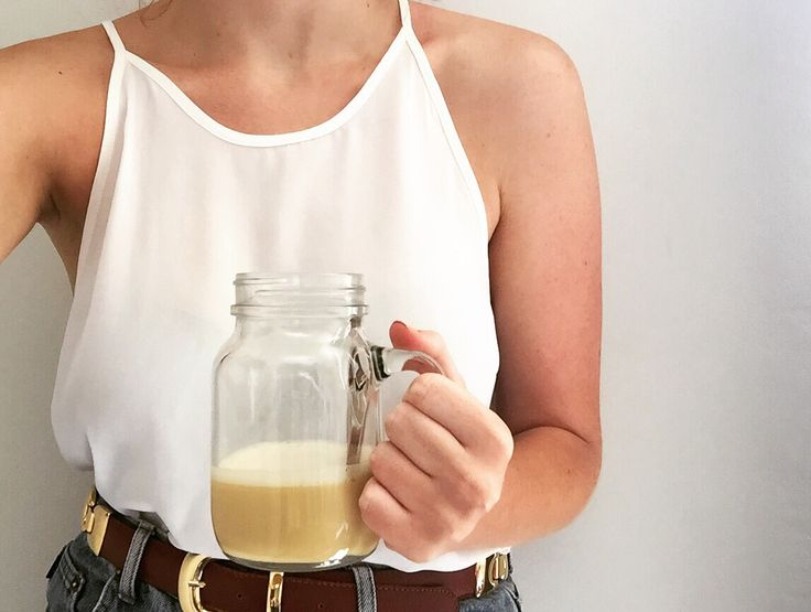 Pre-workout egg shake does wonders!
