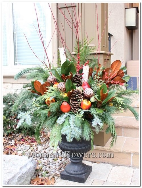Urn Decor Unique Best 25 Christmas Urns Ideas On Pinterest  Christmas Planters Inspiration