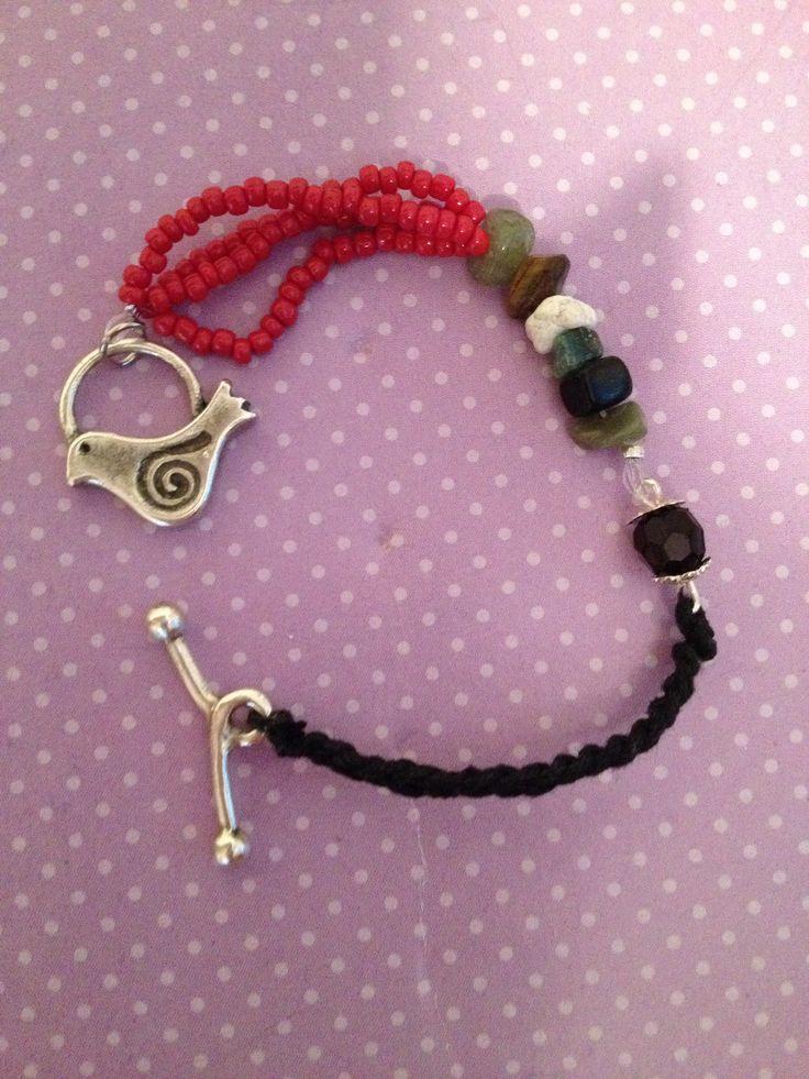 Handmade bracelet. https://www.facebook.com/xtworld?ref=hl