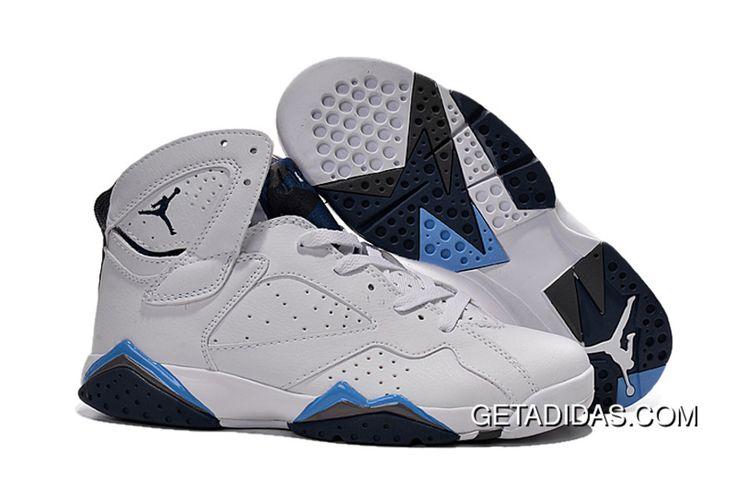 https://www.getadidas.com/air-jordan-7-men-white-blue-grey-black-topdeals.html AIR JORDAN 7 MEN WHITE BLUE GREY BLACK TOPDEALS Only $78.51 , Free Shipping!