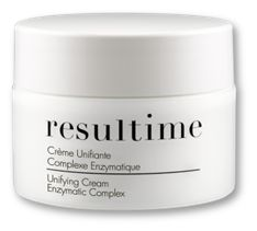 Unifying Cream Enzymatic Complex is a brightening and anti-ageing cream to reduce pigmentation marks, even out the complexion and maintain the skin's youthfulness. For all women looking to reduce their dark spots or pigmentation blemishes. For women looking to even out their complexion. All skin types. #Resultime #ResultimeAustralie #Lightening #Cream