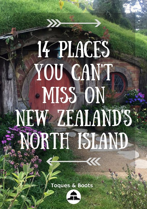 places you cant miss new zealand's north island