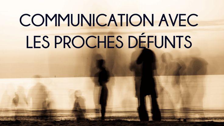 Communication #défunt.