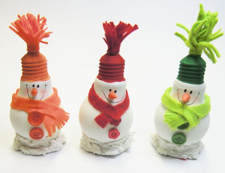 recyclingbasteln mit gl hbirnen weihnachtsbasteln christmas ornaments pinterest. Black Bedroom Furniture Sets. Home Design Ideas