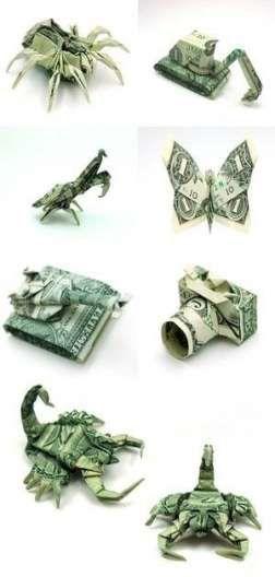 Best Origami For Kids Animals Dollar Bills 24+ Ideas