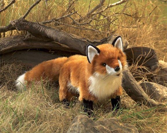 Folkmanis Puppet - Red Fox Hand Puppet #EntropyWishList #PinToWin  Love this fox