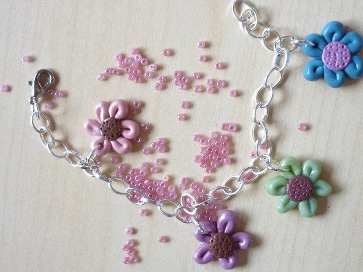 flowers, color, handmade