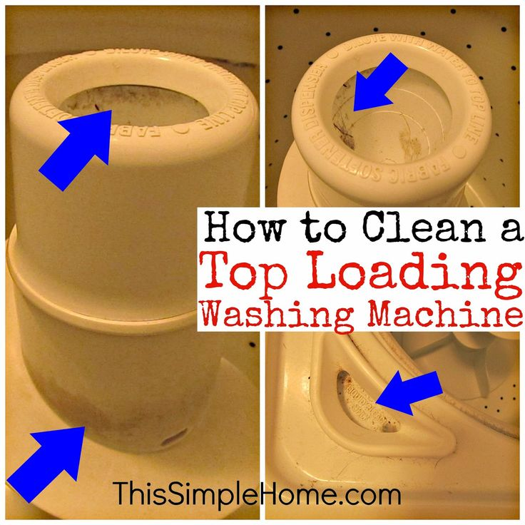This Simple Home: How to Clean a Top Loading Washing Machine