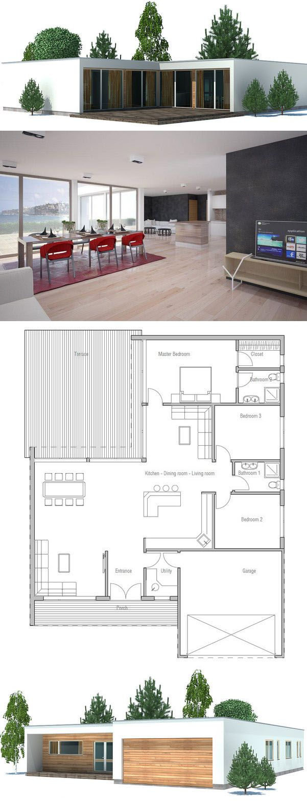 House plans | ConceptHousePlans  ~ Great pin! For Oahu architectural design visit http://ownerbuiltdesign.com