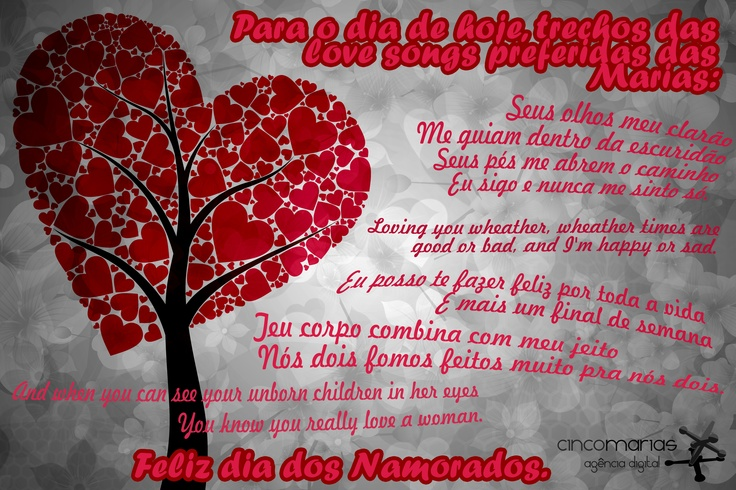 Dia dos Namorados 2012.