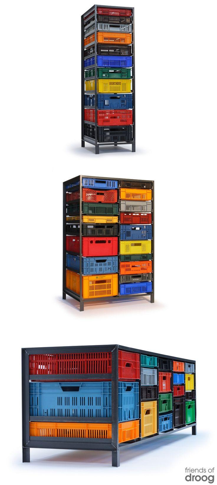 Crates Cabinet Droogcom Home Pinterest Crates