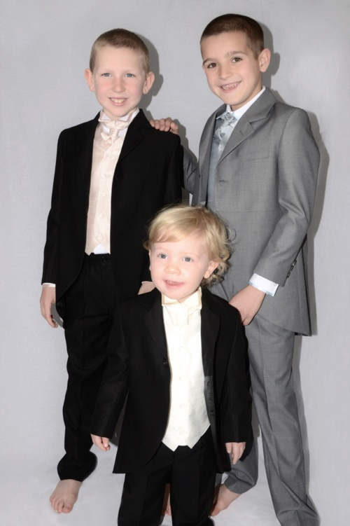 Tiny Tux offers a great range of Boys Special Occasion Wear. Select from 6 months to 7 years boys formal 3pc, 4pc, 5pc, cravat and silk waistcoat suits for weddings, communions, christenings, and other formal wear events.      http://www.mumsbusinessdirectory.com/tiny-tux/