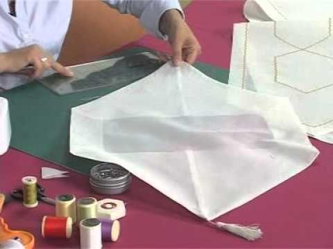 sehpa örtüsü yapımı - YouTube