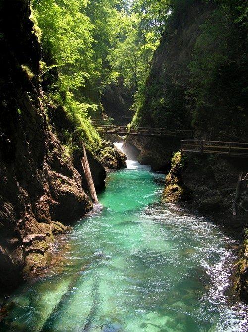 River Path, Vintgar Gorge, Slovenia