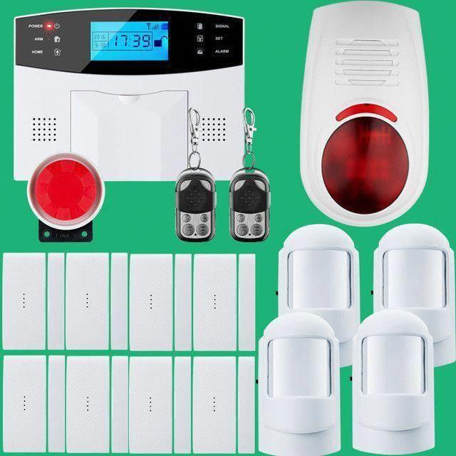 Wireless Sms Home Gsm Alarm System House Intelligent Diy Burglar Security Alarm Security Gsm Alarm System Wireless Home Security Systems Home Security Systems