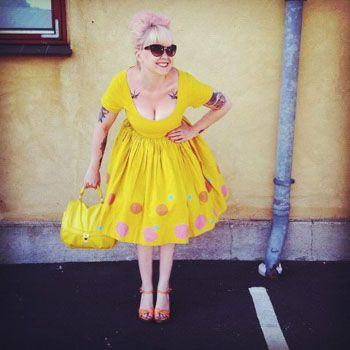 Yellow dresses, Cille Vejen