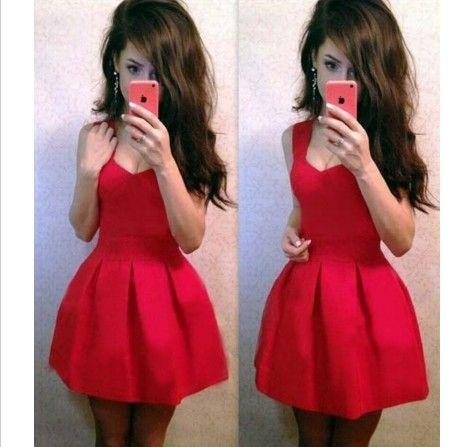 Krátké šaty pro ženy červené – dámské šaty + POŠTOVNÉ ZDARMA Na tento produkt se vztahuje nejen zajímavá sleva, ale také poštovné zdarma! Využij této výhodné nabídky a ušetři na poštovném, stejně jako to udělalo …