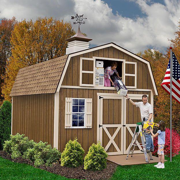 Best Barns Millcreek 12ft. X 20ft. Shed Kit $3623.53