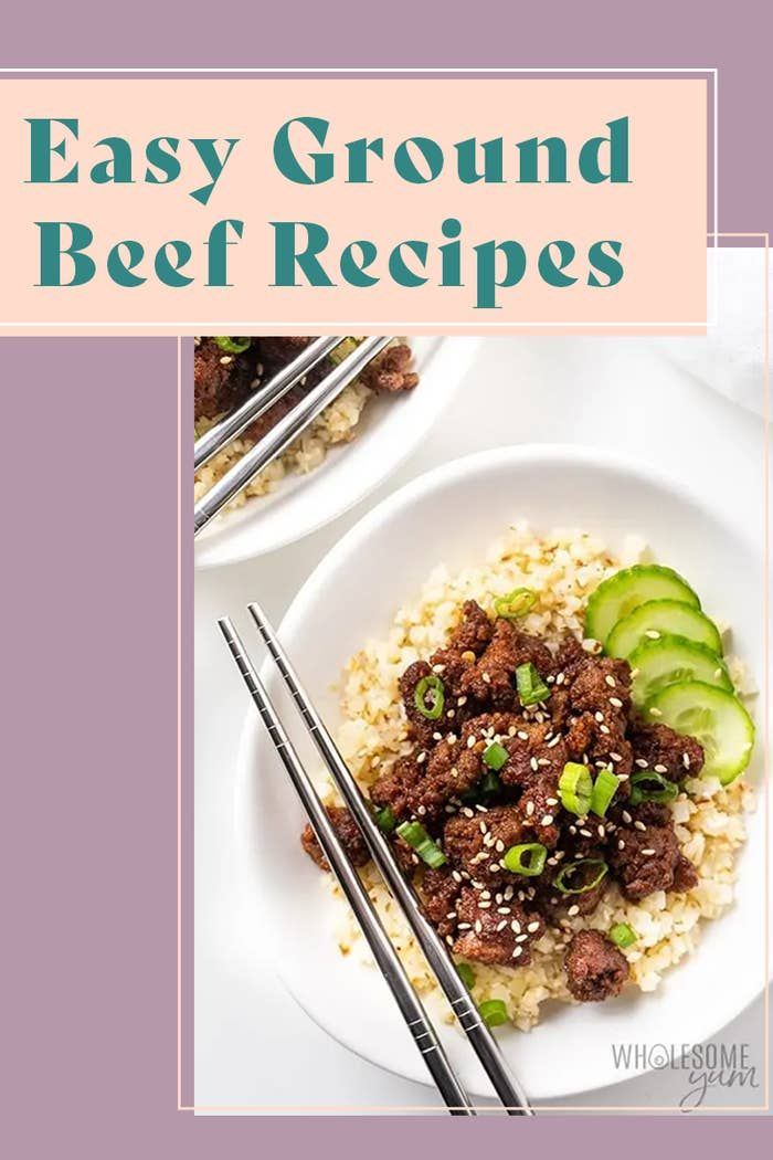 24 Easy Meals That All Start With A Pack Of Ground Beef In 2020 Ground Beef Recipes Ground Beef Recipes Easy Beef Recipes