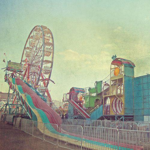 retro carnival by Rhiannon Banda-Scott