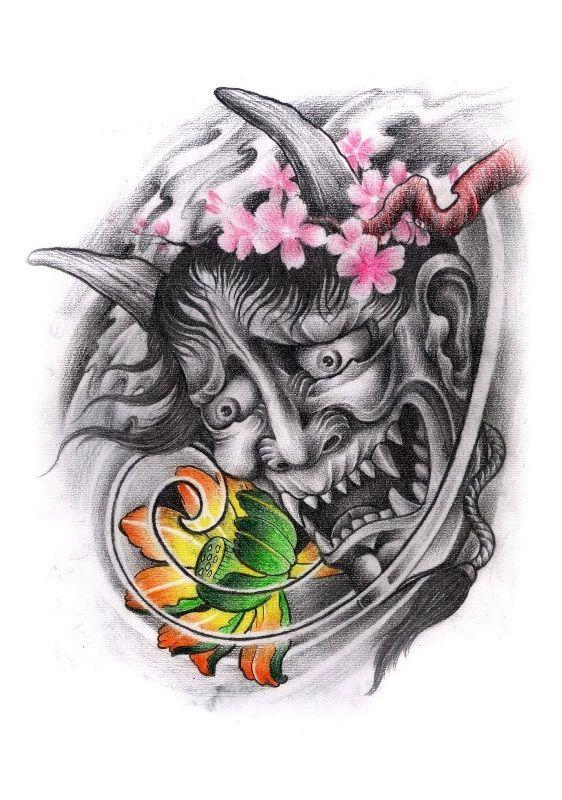 Best 25+ Oni tattoo ideas on Pinterest | Japanese tattoo ...