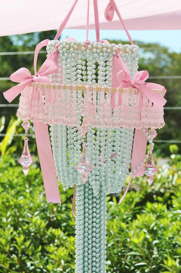 Chandelier for a girl's party
